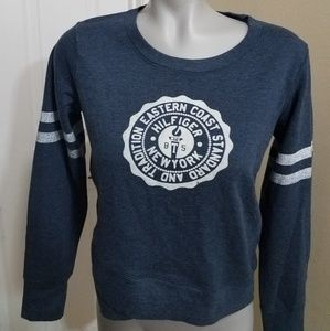 Tommy hilfiger navy blue sweatshirt small